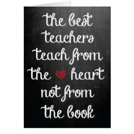 Los mejores profesores tarjeton