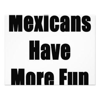 Los mexicanos se divierten más comunicado personal