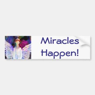 ¡Los milagros suceden! Pegatina para el