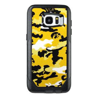 Los militares amarillos del ejército de Como del Funda OtterBox Para Samsung Galaxy S7 Edge
