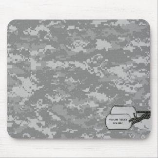 Los militares camuflan con las etiquetas de la ide alfombrilla de ratón
