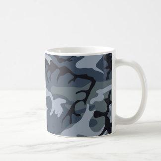 Los militares camuflan diseño taza clásica