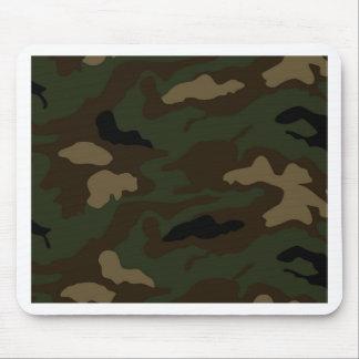 los militares camuflan el modelo alfombrilla de ratón