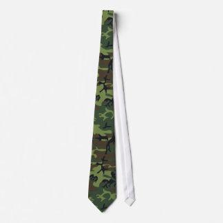 Los militares camuflan el modelo, estilo del corbata