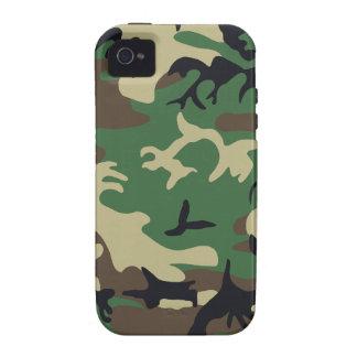 Los militares camuflan vibe iPhone 4 fundas