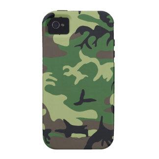 Los militares camuflan vibe iPhone 4 funda
