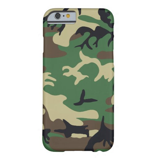 Los militares camuflan funda de iPhone 6 barely there