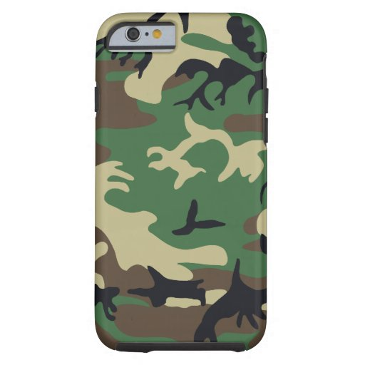 Los militares camuflan funda de iPhone 6 tough