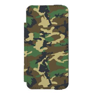 Los militares camuflan funda cartera para iPhone 5 watson