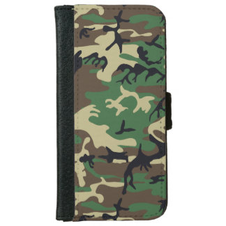 Los militares camuflan funda cartera para iPhone 6