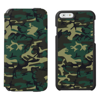 Los militares camuflan funda cartera para iPhone 6 watson