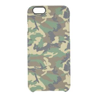Los militares camuflan funda clearly™ deflector para iPhone 6 de uncommon