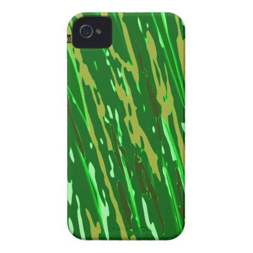 Los militares camuflan la caja intrépida de Blackb iPhone 4 Protector