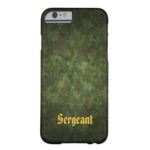Los militares camuflan personalizado funda de iPhone 6 barely there