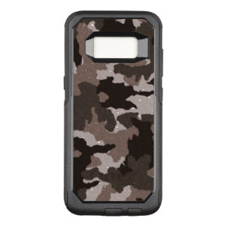 Los militares de hombres frescos de Brown Camo Funda Otterbox Commuter Para Samsung Galaxy S8