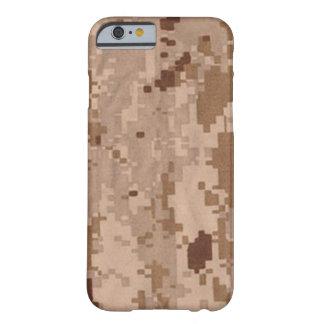 Los militares del desierto camuflan funda de iPhone 6 barely there