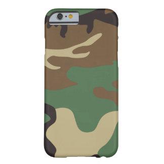 Los militares diseñan el camuflaje fresco funda barely there iPhone 6