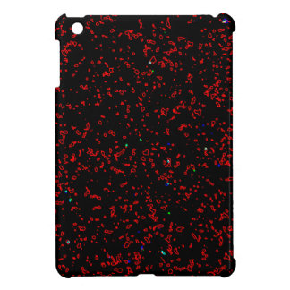 Los modelos rojos del fractal del negro moderno