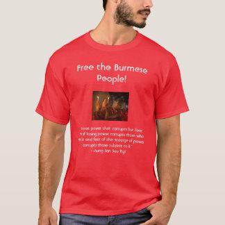 """Los monjes en rezo, """"no es el poder que corrompe… camiseta"""