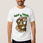 Los monos van a nadar camisetas