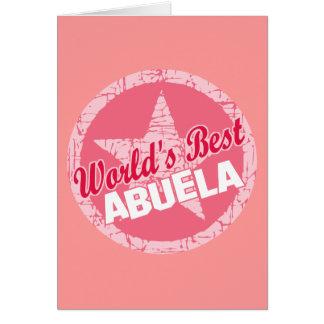 Los mundos el mejor Abuela Tarjetón