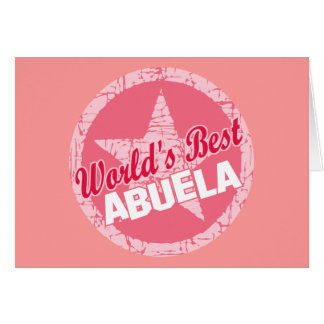 Los mundos el mejor Abuela Tarjeton