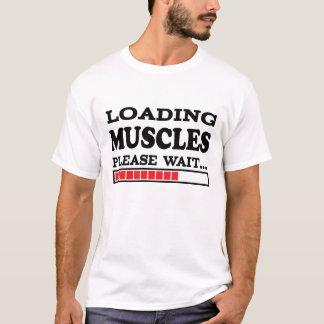 Los músculos del cargamento satisfacen esperan… camiseta
