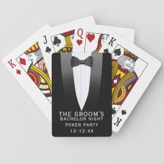 Los naipes del fiesta del póker de la noche del