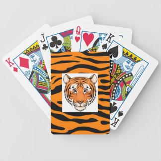 ¡Los naipes del tigre - van los tigres salvajes!