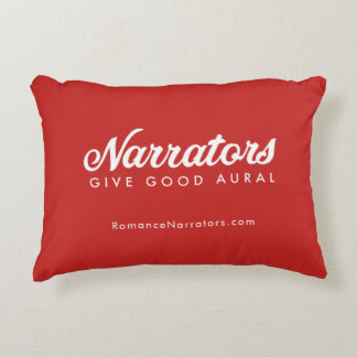 Los narradores dan la buena almohada aural +tela