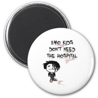 los niños del emo no necesitan el hospital imán de nevera