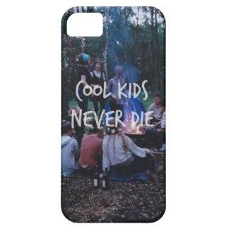 Los niños frescos nunca mueren caja del teléfono funda para iPhone 5 barely there