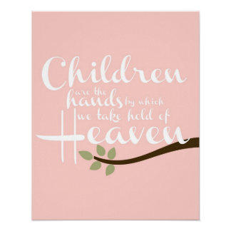 Los niños son el poster del cuarto de niños de las póster