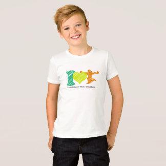 Los niños unisex multan la camiseta del jersey