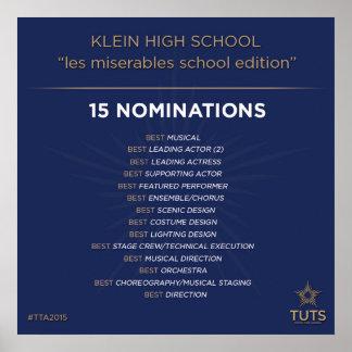 Los nombramientos del drama de Klein para Tommy Póster