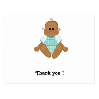 Los nuevos regalos afroamericanos del bebé y postal