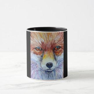 los ojos del zorro diseñaron la taza de café