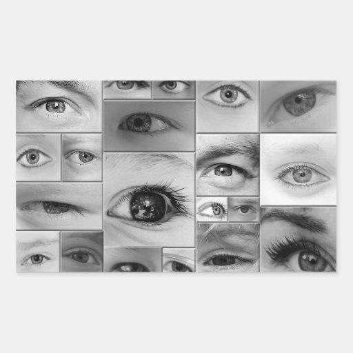Los ojos lo tienen rectangular altavoz