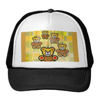 Los osos de HappyTeddy Gorro De Camionero