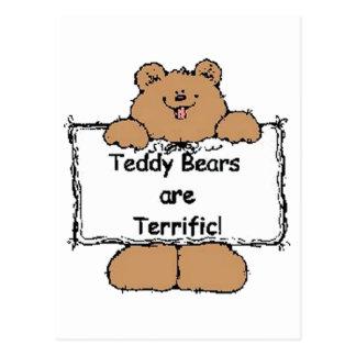 Los osos de peluche son fabulosos postal