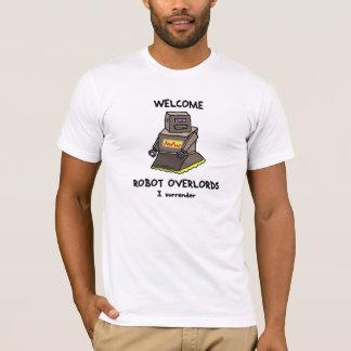 Los Overlords agradables del robot imprimieron la Camiseta