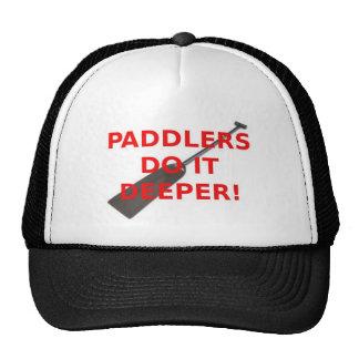 Los Paddlers lo hacen un casquillo más profundo Gorros