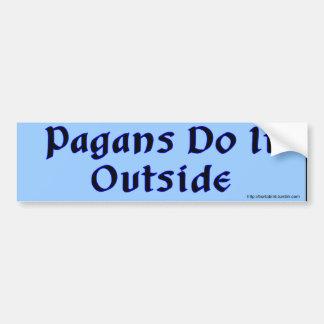 Los Pagans lo hacen pegatina para el parachoques