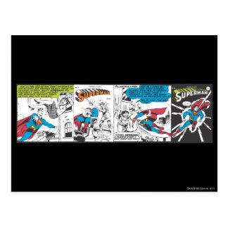 Los paneles cómicos 2 del superhombre postal