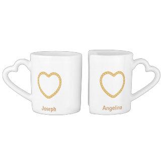 Los pares personalizaron la taza de café