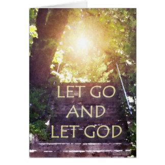 Los pasos dejaron la tarjeta de dios