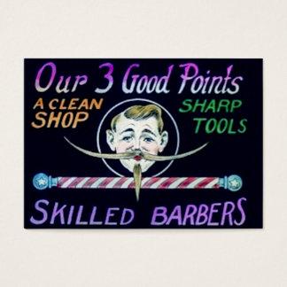 Los peluqueros expertos de la peluquería de tarjeta de visita