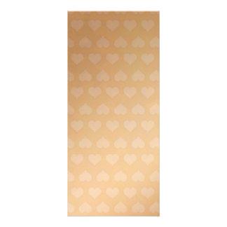Los pequeños corazones de oro - añada el personali diseño de tarjeta publicitaria