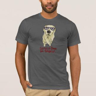 Los perros del servicio son más elegantes camiseta