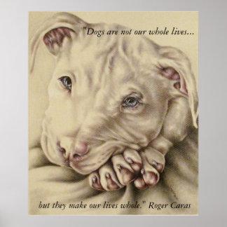 Los perros hacen nuestras vidas enteras: Poster